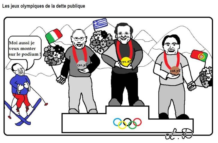 Les jeux olympiques de la dette publique