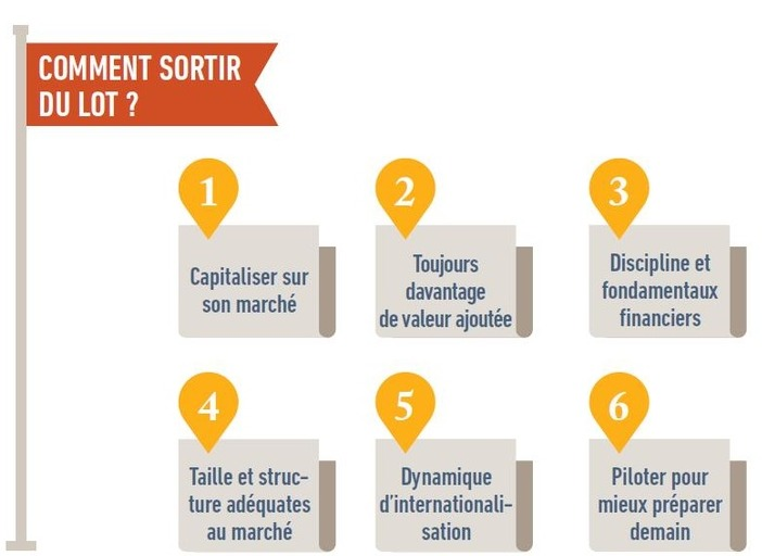 PME Comment sortir du lot ?