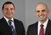 David Bellaïche et Florent Labey