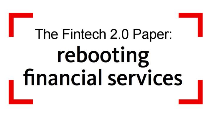 FinTech 1.0 vs FinTech 2.0