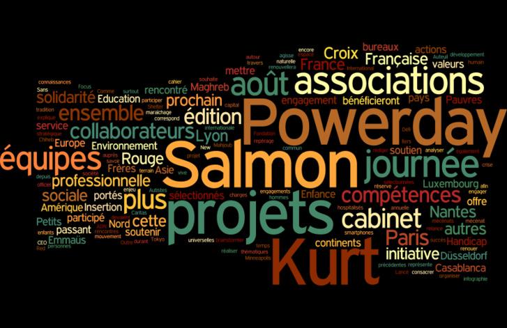 La solidarité et la Finance , Powerday by Kurt Salmon