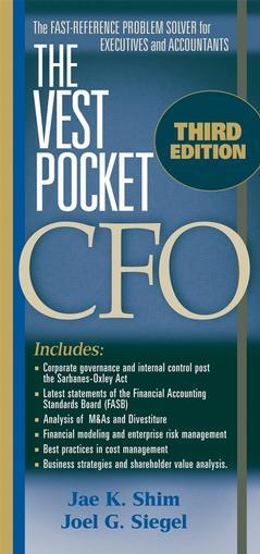 The vest pocket cfo, (3rd ed)