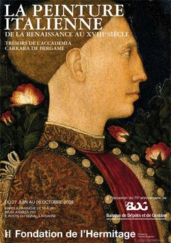 La peinture italienne de la renaissance au XVIIIème siècle