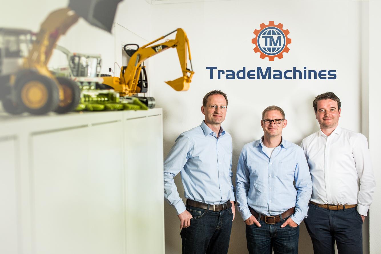 La start-up TradeMachines vient de lever plus d'1 million € pour digitaliser le marché des machines d'occasion