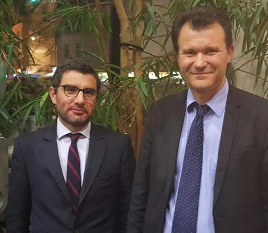 Pierre-Antoine FERRU et Philippe HELAINE - Assemblée générale – Meaux 12/12/2016