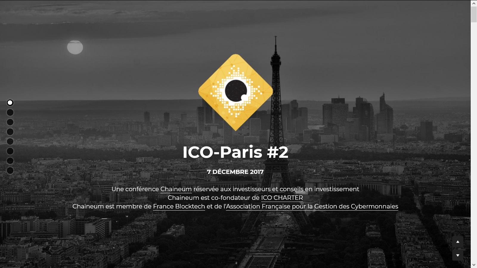 7 décembre 2017 | ICO Paris #2 by Chaineum