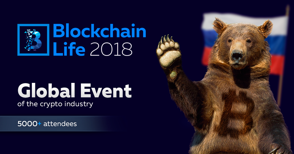 November 7-8, St. Petersburg will host the 2nd annual international forum on blockchain, cryptocurrency and mining - Blockchain Life 2018.