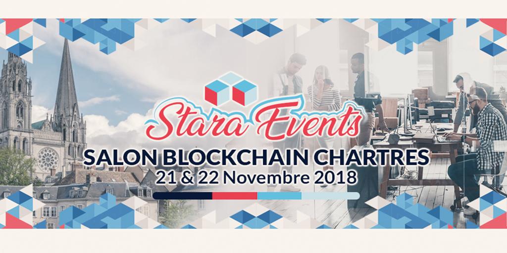1 ère édition du Salon Blockchain 28 les 21 et 22 novembre 2018 à la Chambre de Commerce et d'Industrie de Chartres