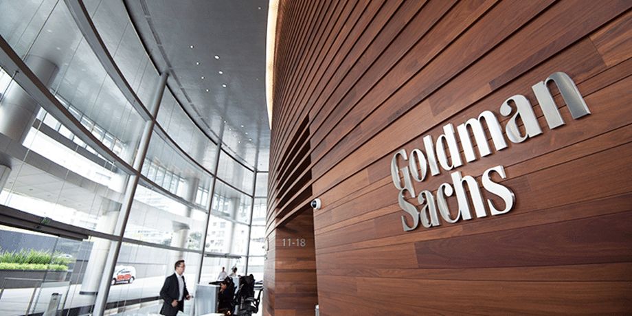 Huge investment firms such as Goldman Sachs have shown interest in the cryptocurrency sector. (Image Credit: Goldman Sachs)