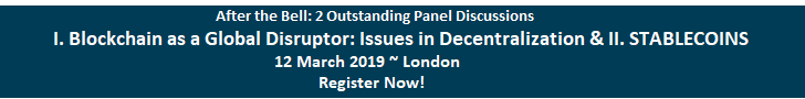 After the Bell Events announces an outstanding panel discussion in London on 12 March 2019.