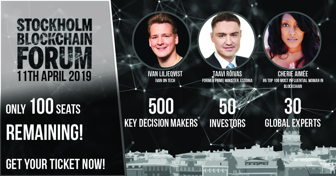 Former Estonian Prime Minister Confirmed for Stockholm Blockchain Forum