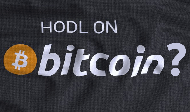 Why is Bitcoin going up? HODL on Bitcoin?