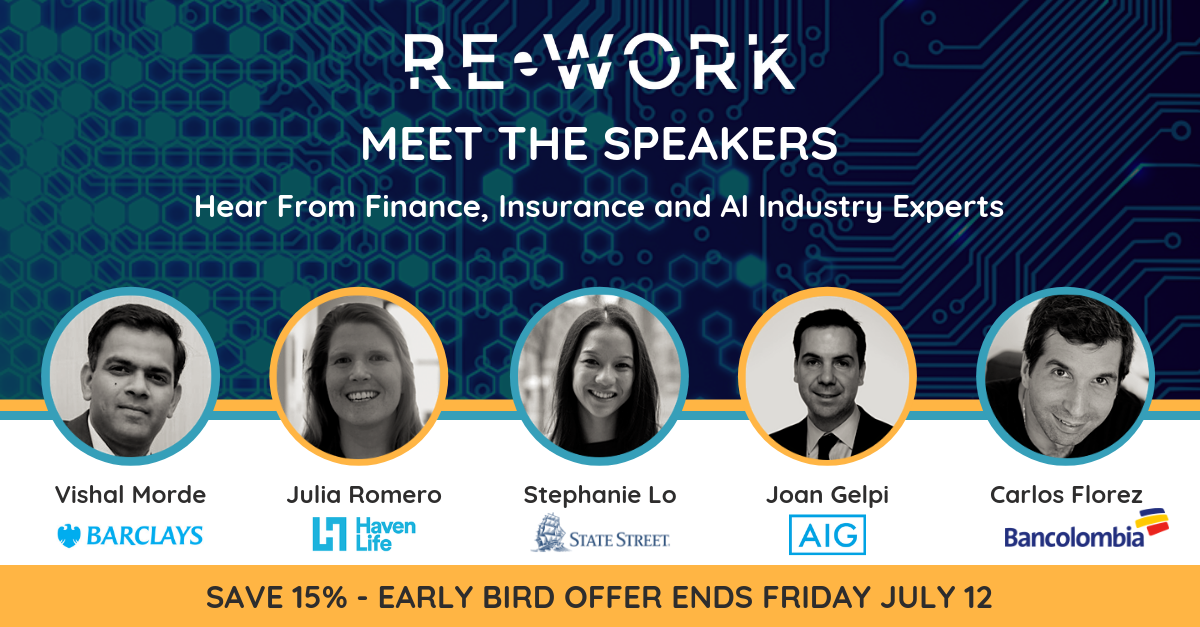 AI in Finance Summit & AI in Insurance Summit, New York: Why Attend?