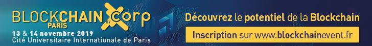 La conférence Blockchain Paris par Corp Agency revient les 13 & 14 novembre 2019.