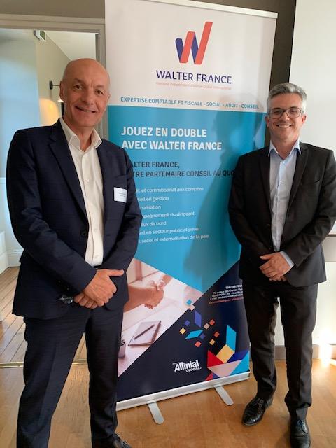Gilles Blanchard et Samuel Le Quéré, associés Walter France à Nantes