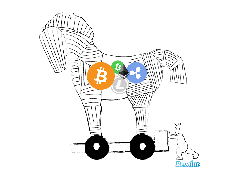 Cryptocurrencies could be Revolut's Trojan Horse to get 100 million customers