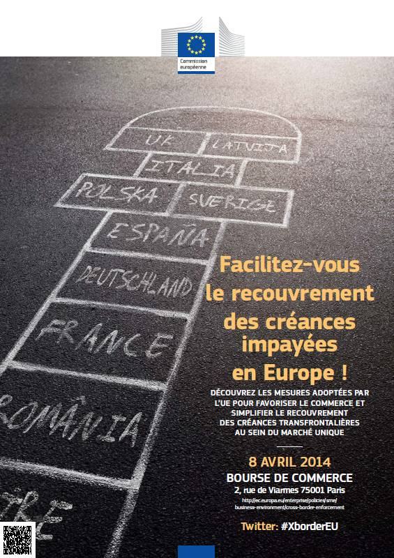 8 avril 2014 (Paris) : Prévention et recouvrement des impayés transfrontaliers