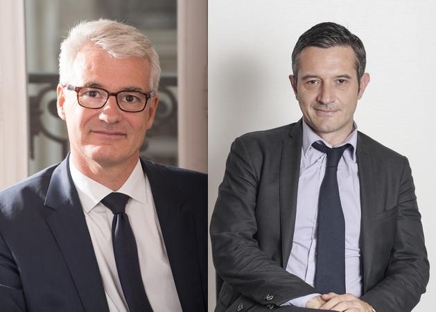 Bertrand Rambaud et Bertrand Robert