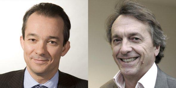 Marc Sabatier et Alain Thibault,