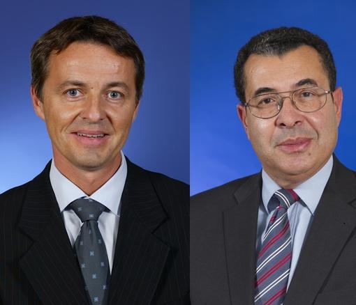 Jean-Marc Discours et Patrick-Hubert Petit
