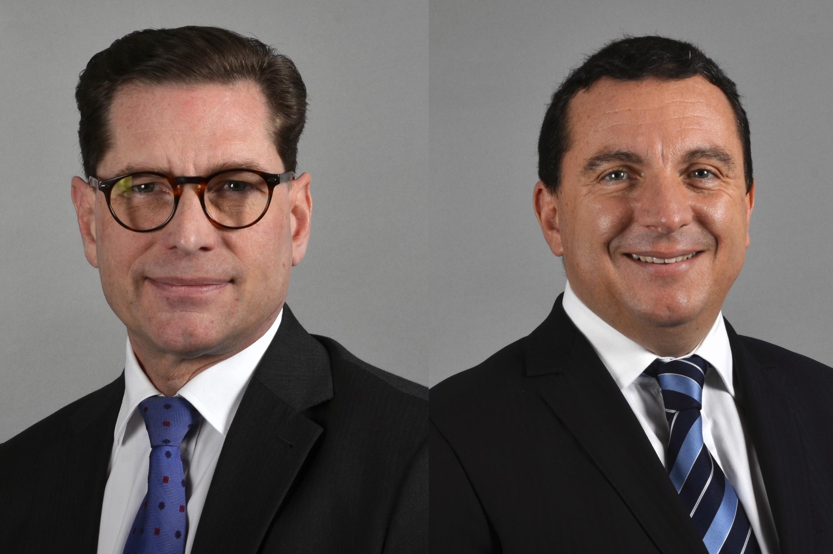Carl H. Crafoord et David Bellaïche