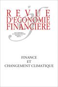 Changement climatique et finance durable - Revue d'Economie Financière N° 117