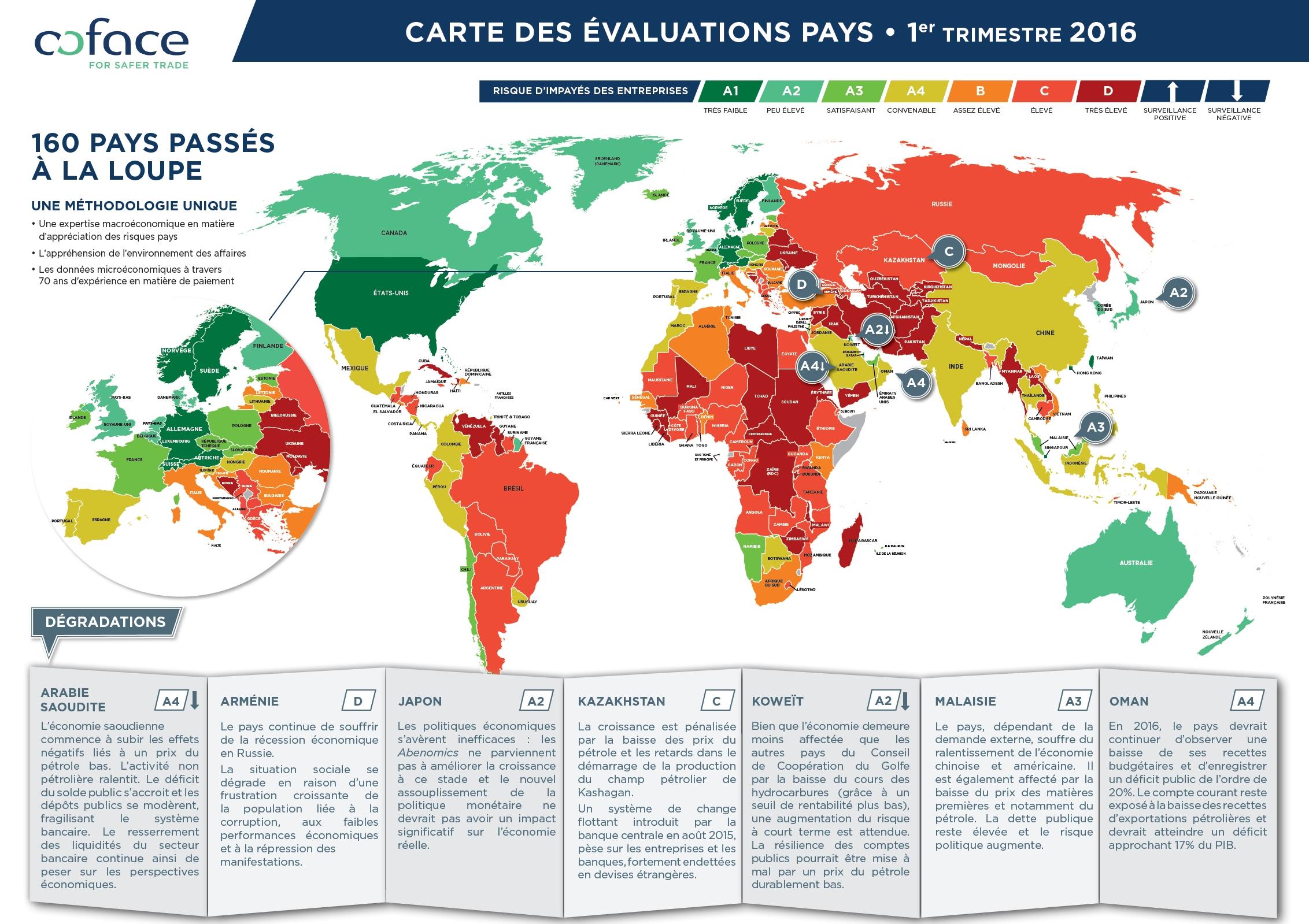 Le risque d'entreprise mondial atteint un pic