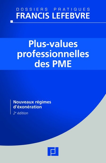 Plus-values professionnelles des PME
