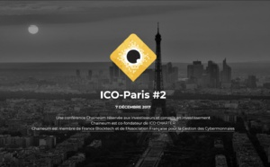 7 décembre 2017 | ICO Paris #2 by Chaineum